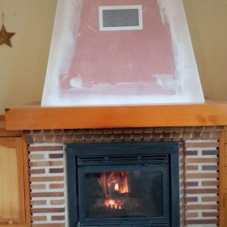 Instalación de chimeneas
